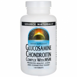 Glucosamine Chondroitin Complex with MSM, 120 Tabs