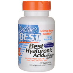 Best Hyaluronic Acid with Chondroitin Sulfate, 60 Caps