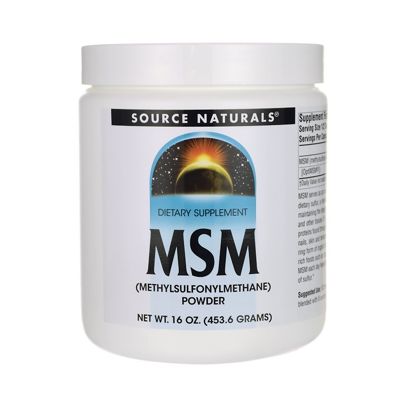 MSM, 16 oz (453.6 grams) Pwdr