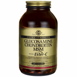 Extra Strength Glucosamine Chondroitin MSM with EsterC, 180 Tabs
