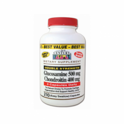 Double Strength Glucosamine & Chondroitin, 210 Caps