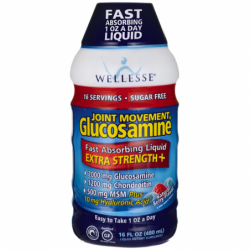 Joint Movement Glucosamine Extra Strength  Natural Berry, 16 fl oz Liquid