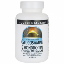 Glucosamine Chondroitin Complex with MSM, 60 Tabs