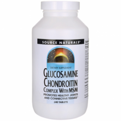 Glucosamine Chondroitin Complex with MSM, 240 Tabs