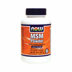 MSM Powder, 8 oz (227 grams) Pwdr