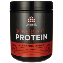 Bone Broth Protein  Cinnamon Apple, 17.4 oz (492 grams) Pwdr