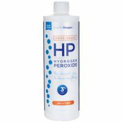 Hydrogen Peroxide Solution 3 Food Grade, 16 fl oz (473 mL) Liquid