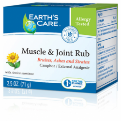 Muscle & Joint Rub, 2.5 oz (71 grams) Cream