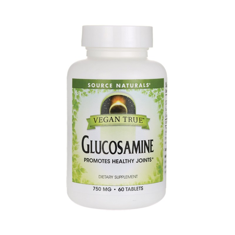 Vegan True Glucosamine, 750 mg 60 Vegan Tabs