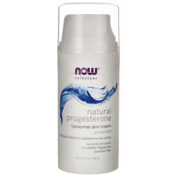 Natural Progesterone  Unscented, 3 oz (85 grams) Cream