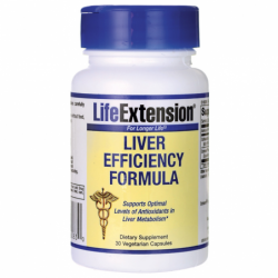 Liver Efficiency Formula, 30 Veg Caps