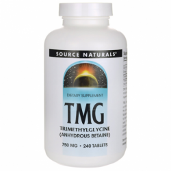 TMG Trimethylglycine, 750 mg 240 Tabs