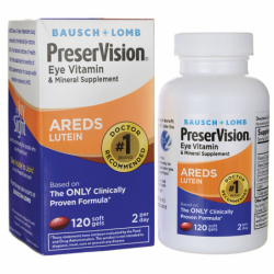 PreserVision AREDS Lutein, 120 Sgels