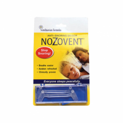 Nozovent AntiSnoring Device, 2 Ct