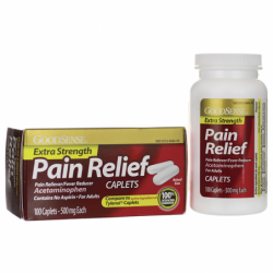 Pain Relief Extra Strength, 500 mg 100 Cplts