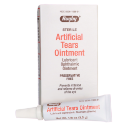 Artificial Tears Ointment, 1/8 oz (3.5 grams) Ointment