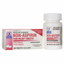 NonAspirin  Regular Strength, 325 mg 100 Tabs