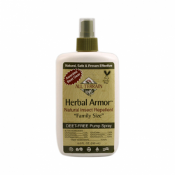 Herbal Armor Natural Insect Repellent  Family Size  Spray, 8 fl oz (240 mL) Liquid