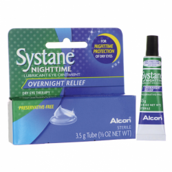 Systane Nighttime Lubricant Eye Ointment  Overnight Relief, .125 oz (3.5 grams) Ointment
