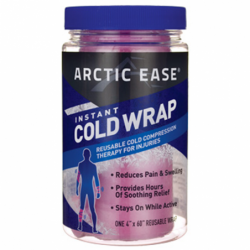 Instant Cold Wrap  Pink, 1 Ct