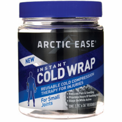 Instant Cold Wrap For Small Joints  Black, 1 Ct