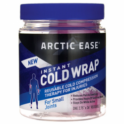 Instant Cold Wrap For Small Joints  Pink, 1 Ct
