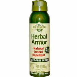 Herbal Armor Natural Insect Repellent Spray, 3 fl oz (85 mL) Liquid