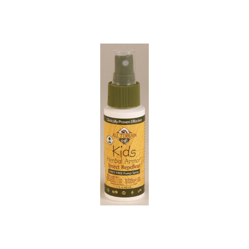 Kids Herbal Armor Natural Insect Repellent Spray, 2 Fl Oz