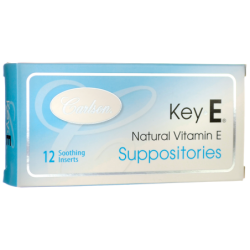 Key E Suppositories, 12 Ct