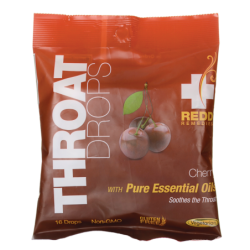 Throat Drops  Cherry, 16 Ct