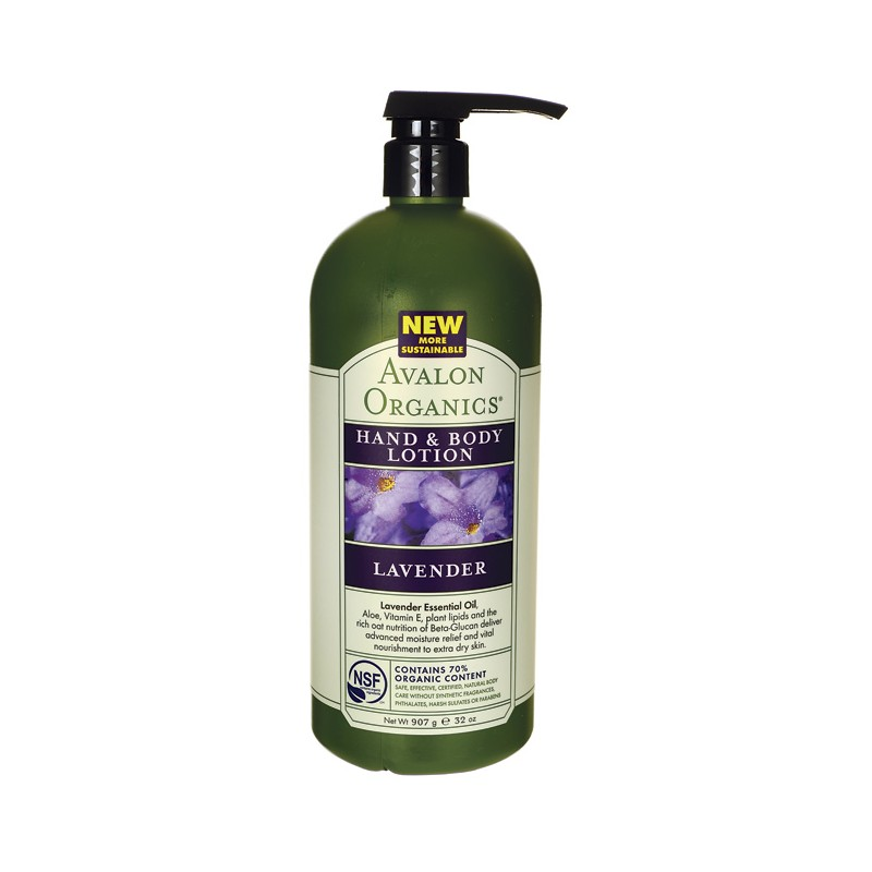 Hand and Body Lotion Lavender, 32 oz (907 grams) Lotion