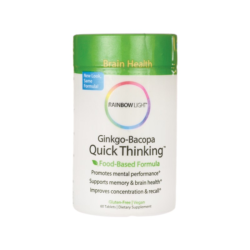 GinkgoBacopa Quick Thinking, 60 Tabs