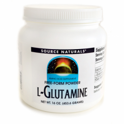 LGlutamine Powder, 16 oz (453.6 grams) Pwdr