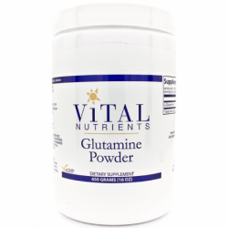 Glutamine Powder, 16 oz Pwdr