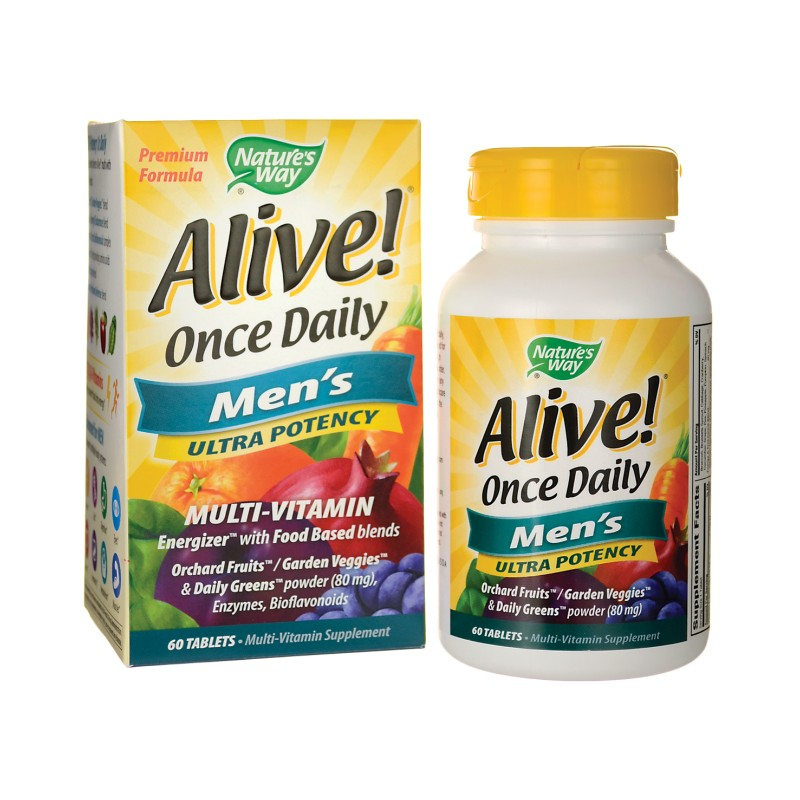 Nature S Way Alive Once Daily Mens  Ultra Potency