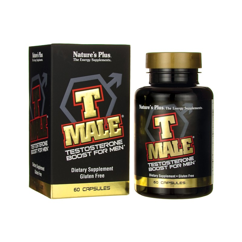 Natures Plus T Male Testosterone Boost For Men 60 Caps