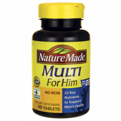 Multi For Him No Iron, 90 Tabs