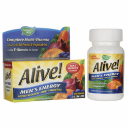 Alive Mens Energy Multivitamin Multimineral, 50 Tabs
