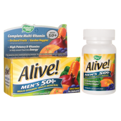 Alive Mens 50 MultiVitamin  MultiMineral, 50 Tabs