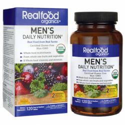 Realfood Organics Mens Daily Nutrition, 120 Tabs