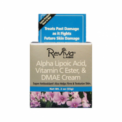 Alpha Lipoic Night Cream with Vitamin C & DMAE, 2 oz Cream