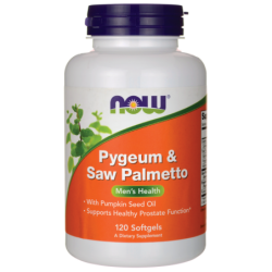 Pygeum & Saw Palmetto, 120 Sgels