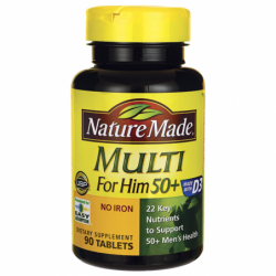 Multi For Him 50 No Iron, 90 Tabs