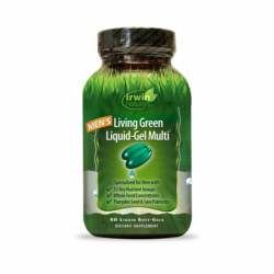 Mens Living Green LiquidGel Multi, 90 Sgels