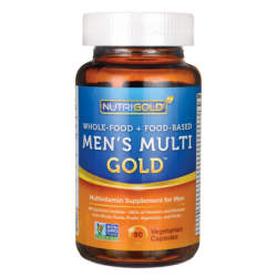 WholeFood  FoodBased Mens Multi Gold, 90 Veg Caps