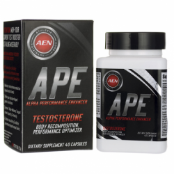 APE Testosterone, 40 Caps