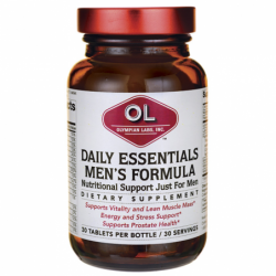 Daily Essentials Mens Formula, 30 Tabs