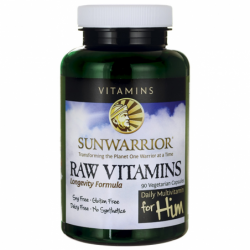 Raw Vitamins For Him, 90 Veg Caps
