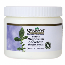 Buffered Magnesium Ascorbate Vitamin C Powder, 4 oz (113 grams) Pwdr