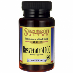 Resveratrol 100, 100 mg 30 Caps
